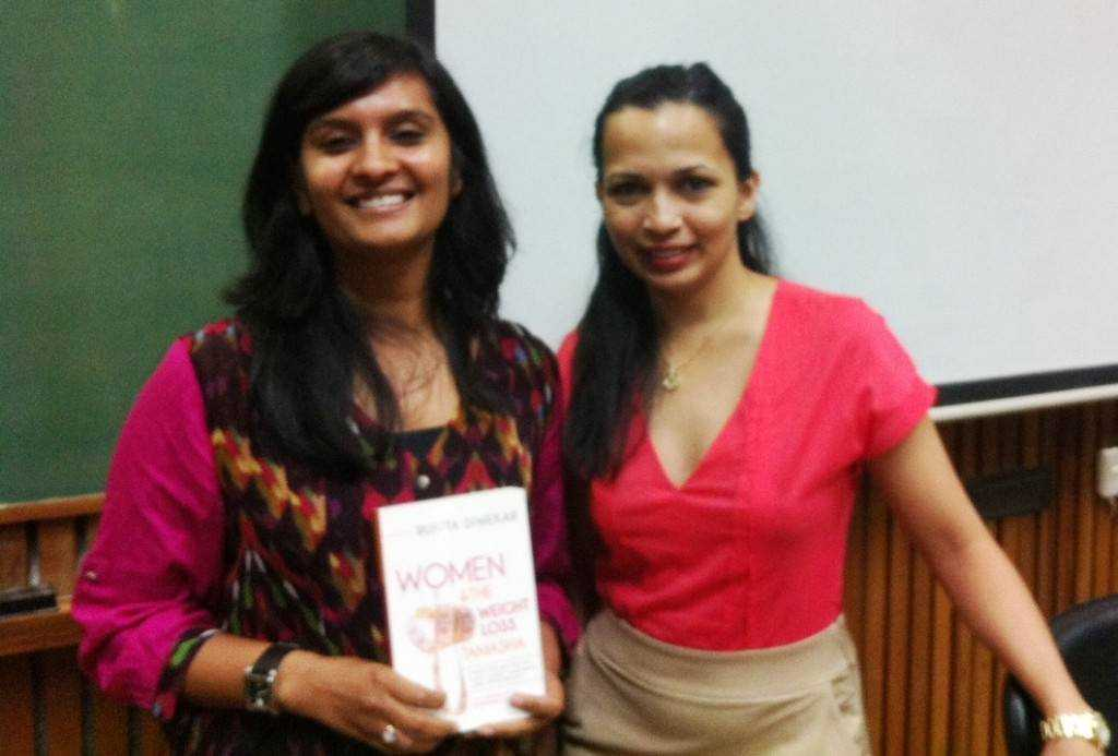 With Rujuta and her second book Women & the Weight Loss Tamasha