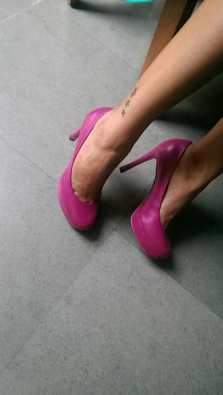 Pumps in Hot Magenta from Charles & Keith
