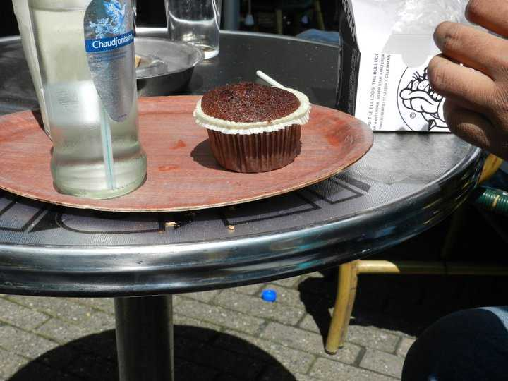 "Space Cake-a local ""delicacy"" in Amsterdam :)"