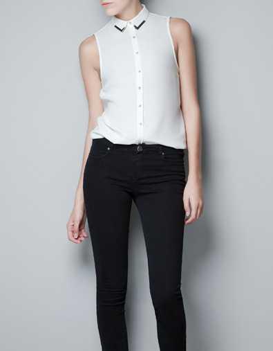The Zara Blouse