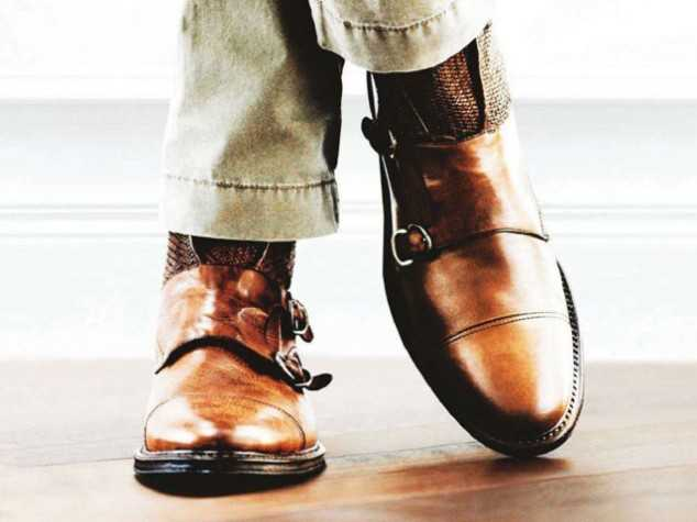 Double-Strap Monk Shoes