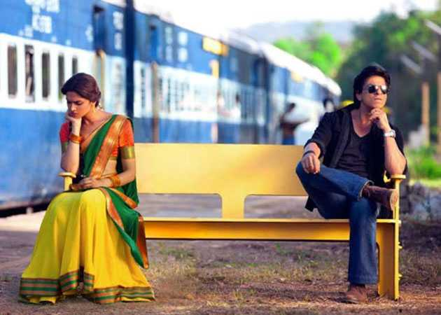 Deepika in a half saree in Chennai Express