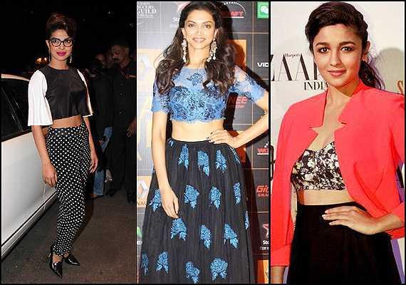 Bollywood jumps the crop-top bandwagon