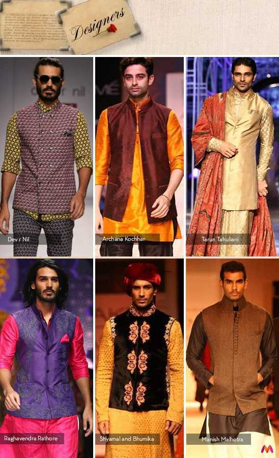 Indian designers and their interpretation of the Nehru Jacket