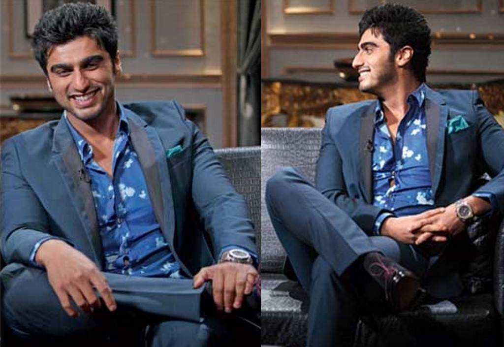 Does Arjun Kapoor manage to pull off the floral shirt?