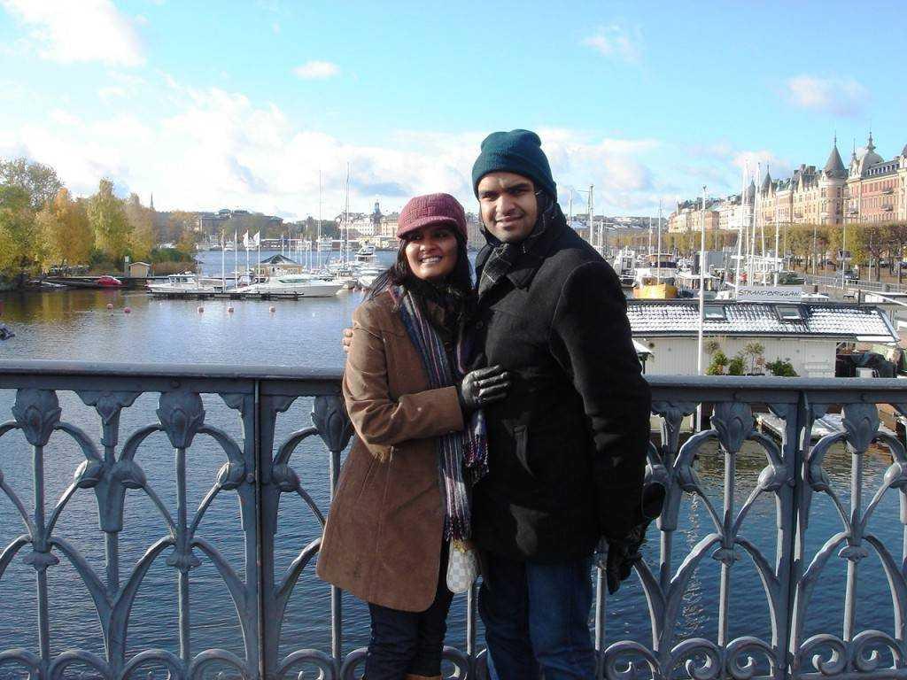 K&I in sub-zero temp @Stockholm