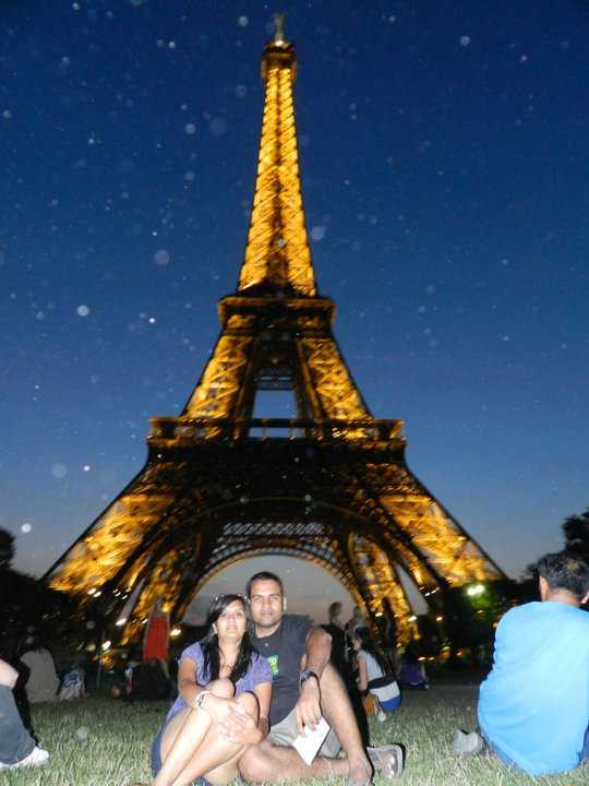 K&I at the Eiffel Tower