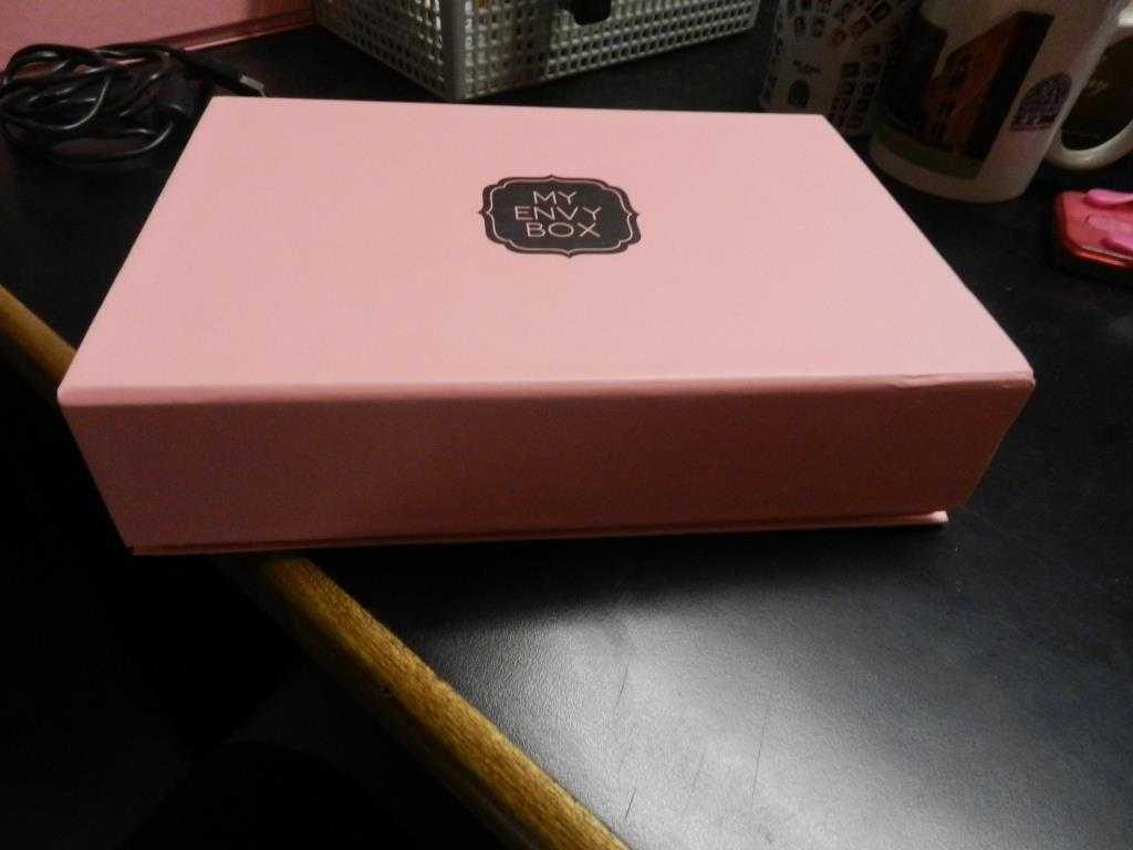 The pretty colored box