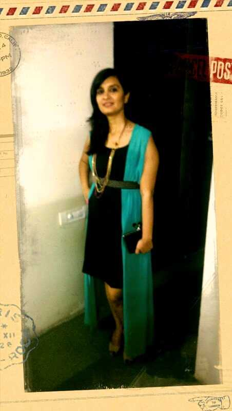 LBD with the cape- AND Long Necklace- Styletag Clutch- New Look Pumps- Charles & Keith