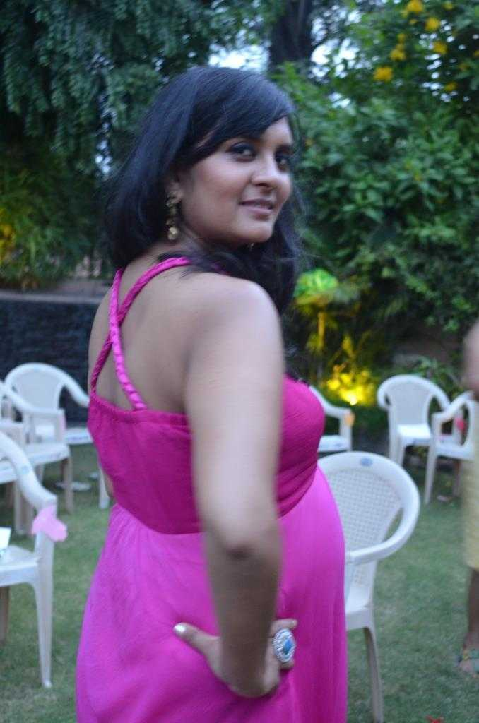 DSC 0322 - The Upadhyay Baby Shower-What I Wore