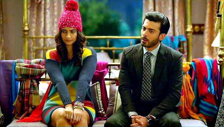 khoob winter rediff - Sonam: Khoobsurat Really? (I guess they meant Fawad Khan :) )