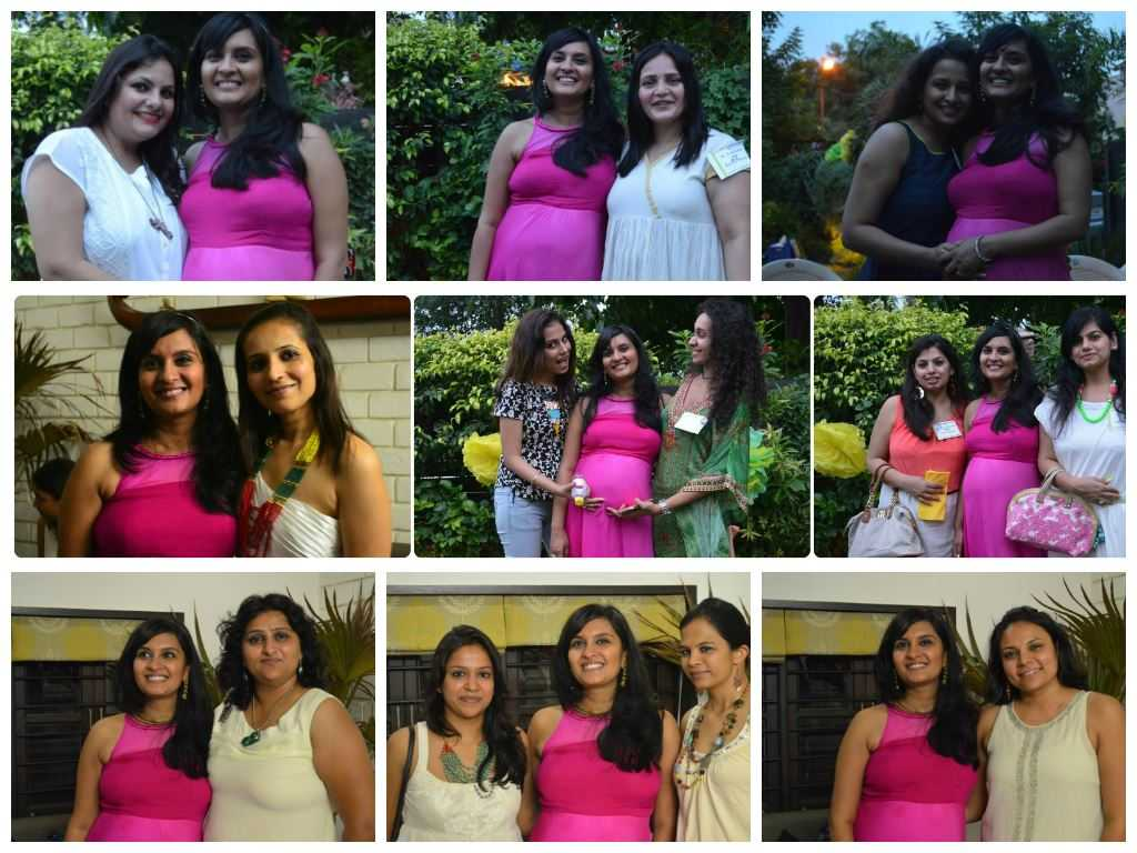 collageupload1 - The Upadhyay Baby Shower-The Fun at the Party!