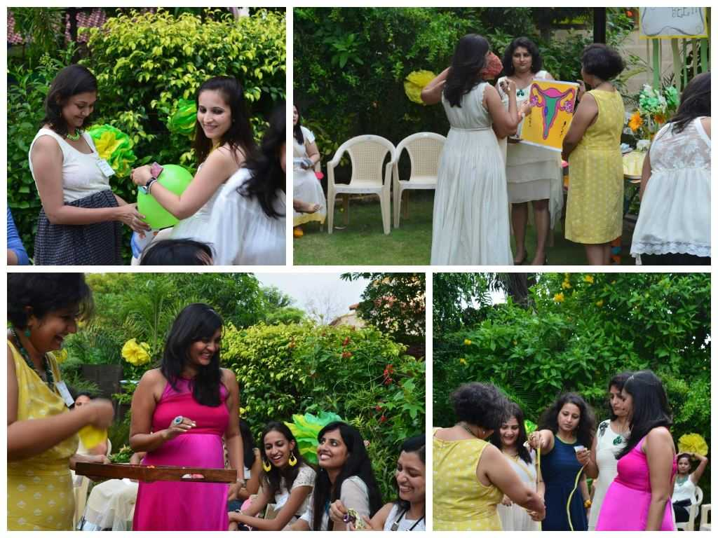 games - The Upadhyay Baby Shower-The Fun at the Party!