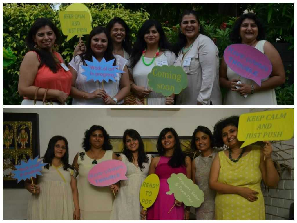 hotobooth1 - The Upadhyay Baby Shower-The Fun at the Party!