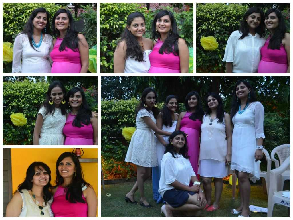 juhis sisters - The Upadhyay Baby Shower-The Fun at the Party!
