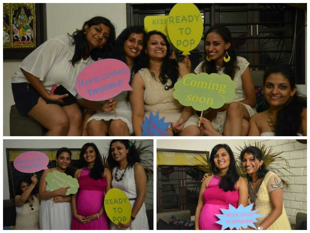 photobooth2 - The Upadhyay Baby Shower-The Fun at the Party!