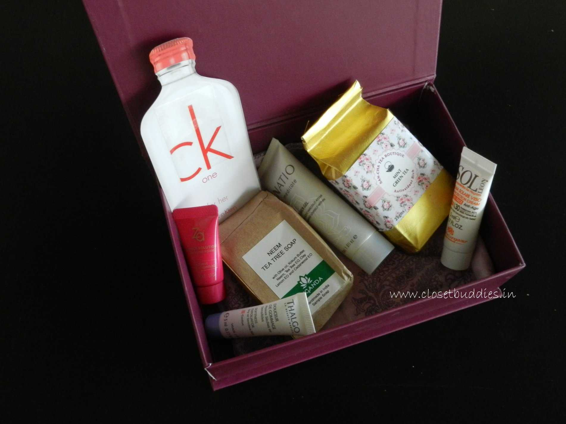 box open - My Envy Box- November 2014 Review