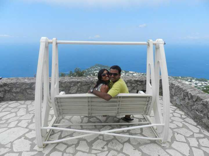 Us at Anacapri-Totes adorbs! aren't we!?