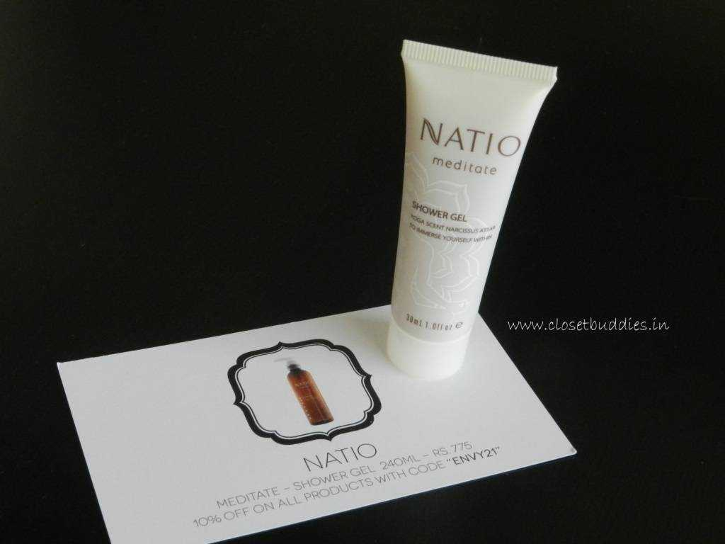 Natio Meditate Shower Gel