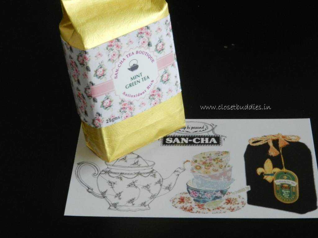 San-cha Mint Green Tea