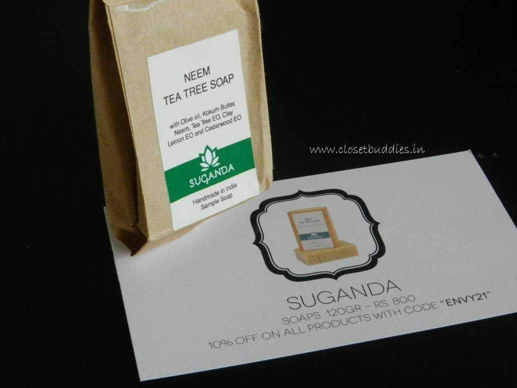Suganda Neem Tea Tree Soap