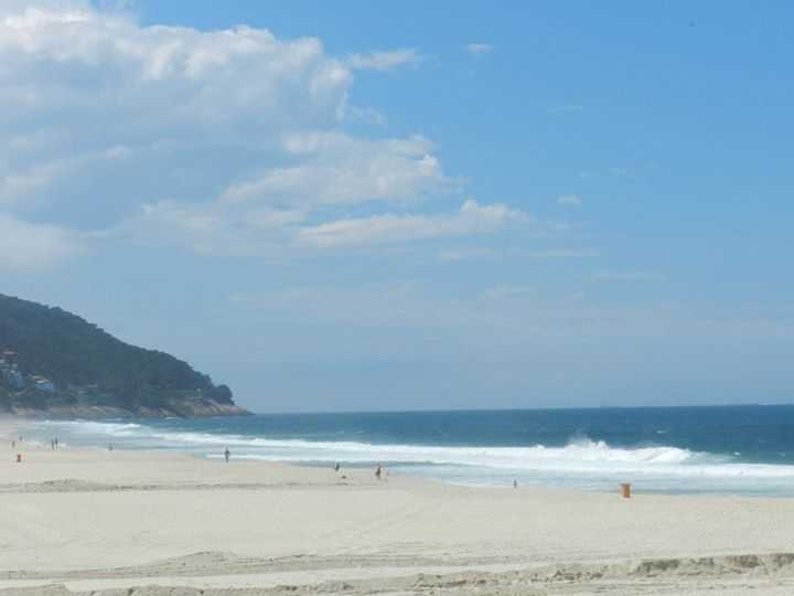 The Barra-da-Tijuca Beach