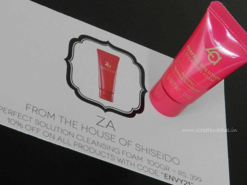 ZA Cleansing Foam