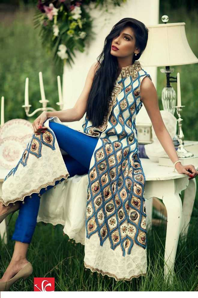 Sana Salman Luxury Summer Pret Collection 2014 8 - The Pakistani Influence