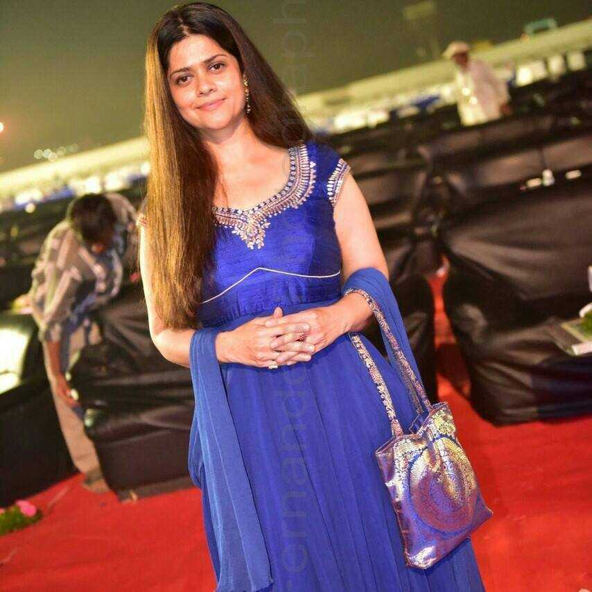 Priya Adhyaru Majithia sporting a smile
