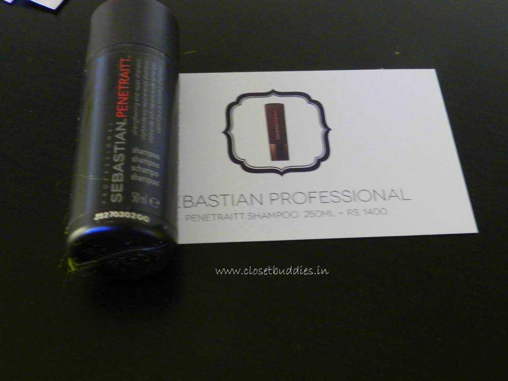 Sebastian Professional Penetraitt Shampoo