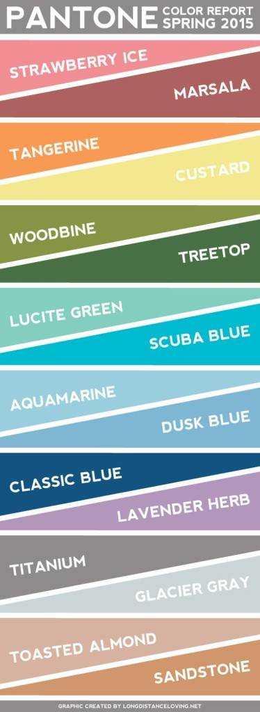 Pantone Color Pallet