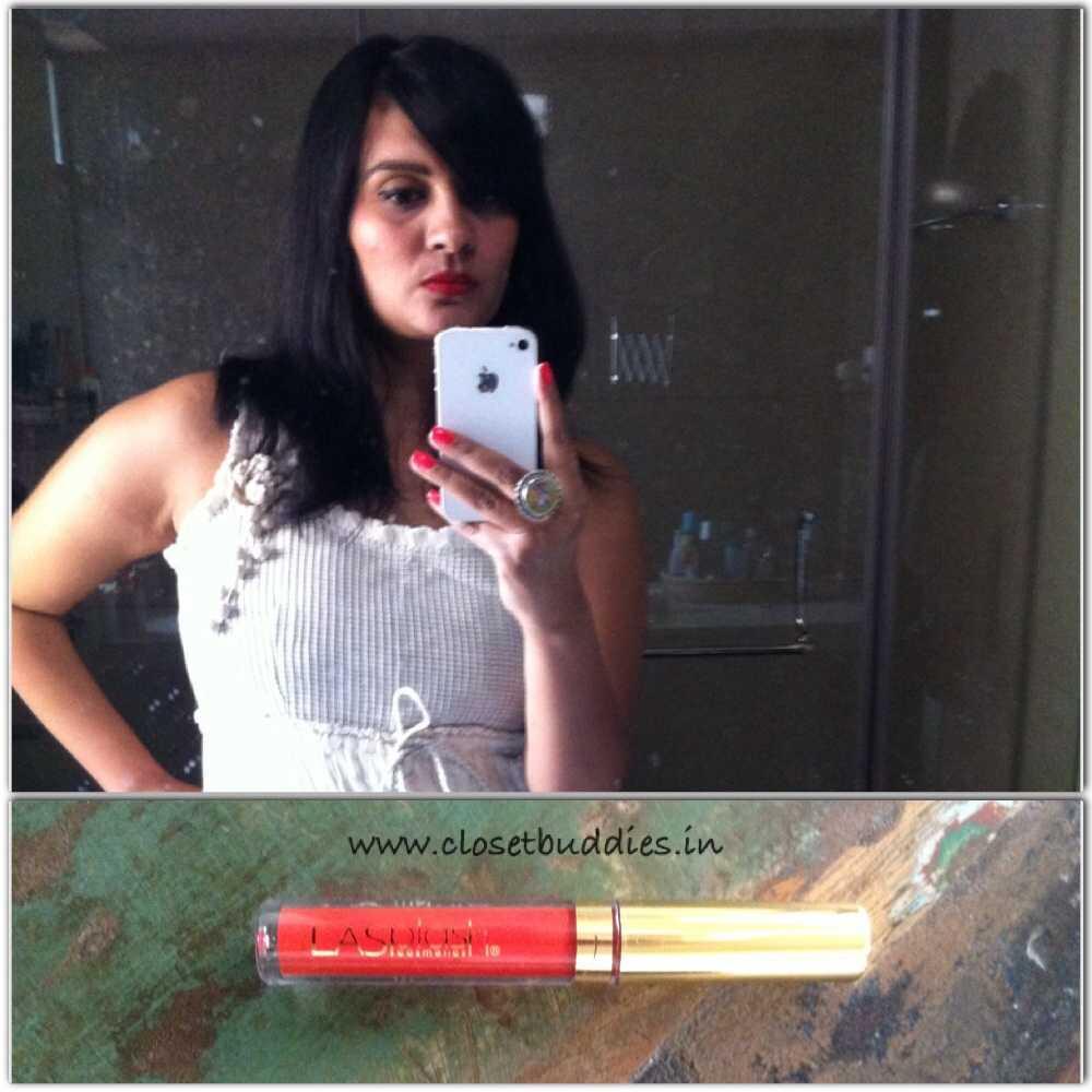 LA Splash Lipstick Shade- Till Midnight