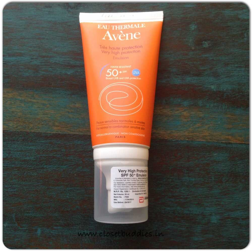 image9 - Avene New Dry Touch Emulsion – Sunsitive Range Review