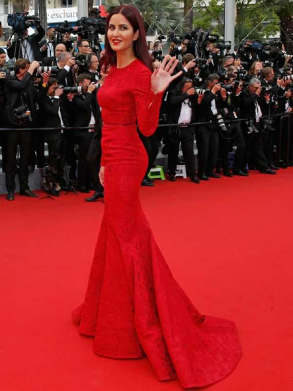 Katrina Elie Saab - Cannes 2015 Red Carpet Round up- Bollywood Special