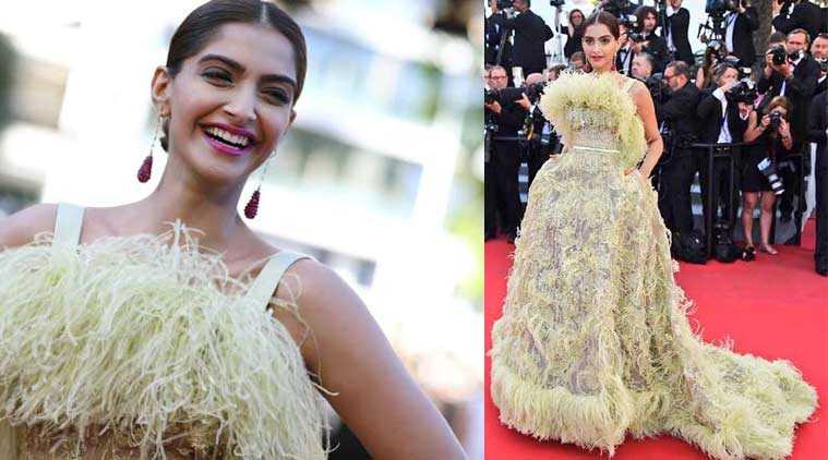 Sonam Elie Saab - Cannes 2015 Red Carpet Round up- Bollywood Special