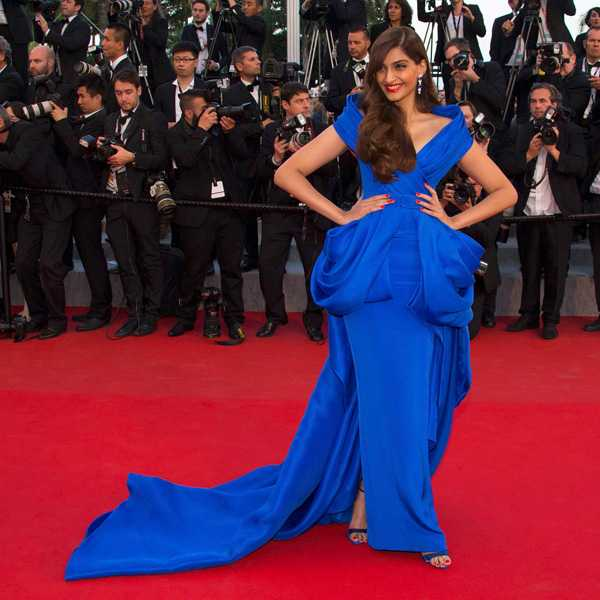 Sonam RalphRusso - Cannes 2015 Red Carpet Round up- Bollywood Special