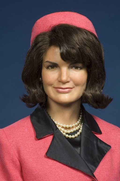 Jackie Kennedy with a Pillbox hat on