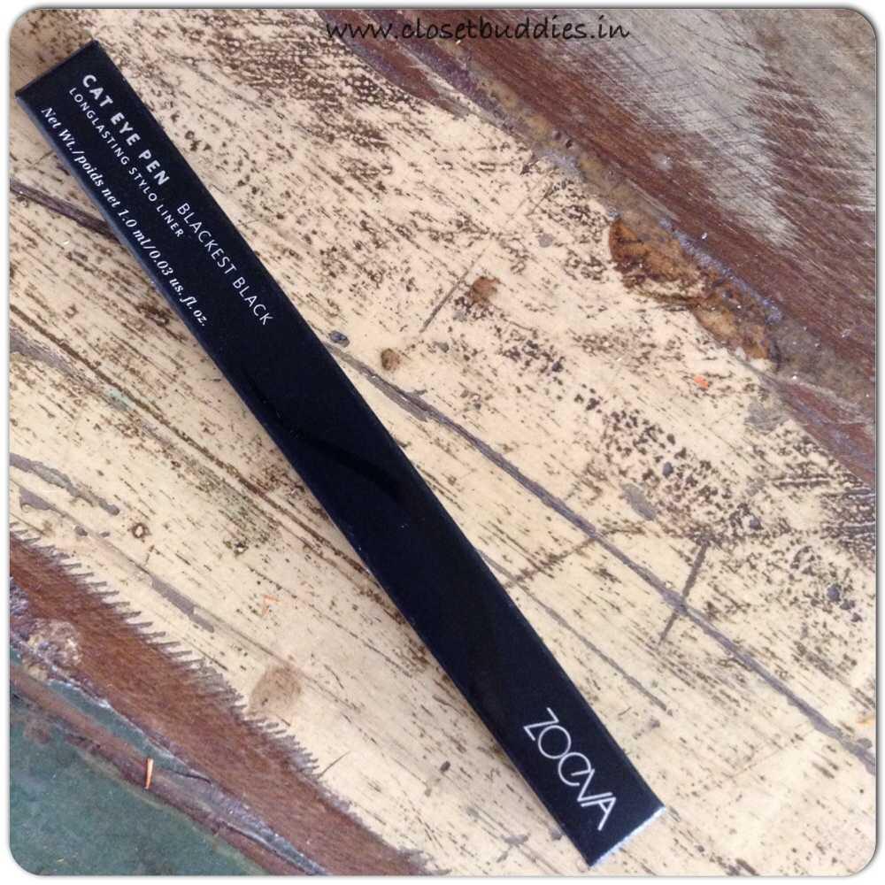 Zoeva Cat Eye Pen in Black