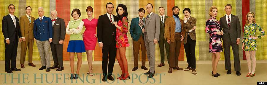 Impeccably well-dressed Mad Men characters