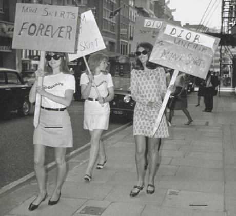 mini skirts - Of Mad Men and Fashion in the 60s