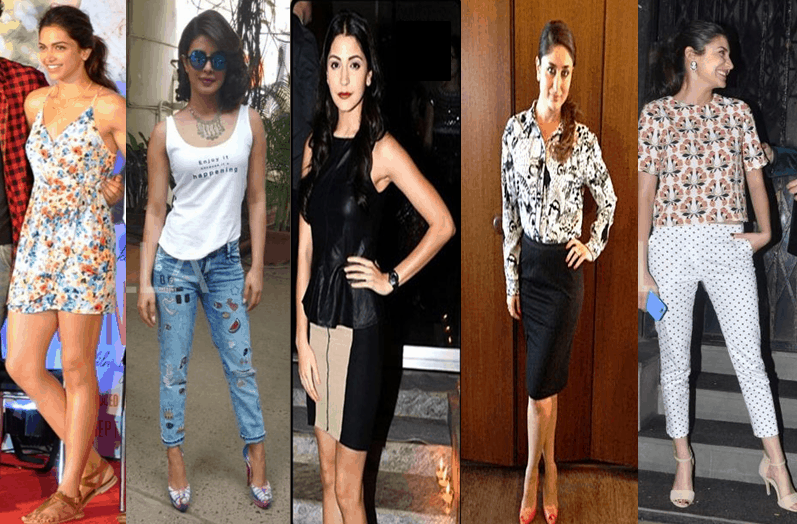 High street brands - Celebs flaunting affordable high street labels