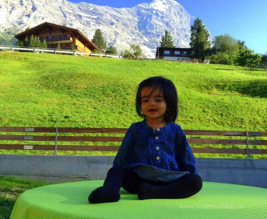 Iy in Grindelwald Grund