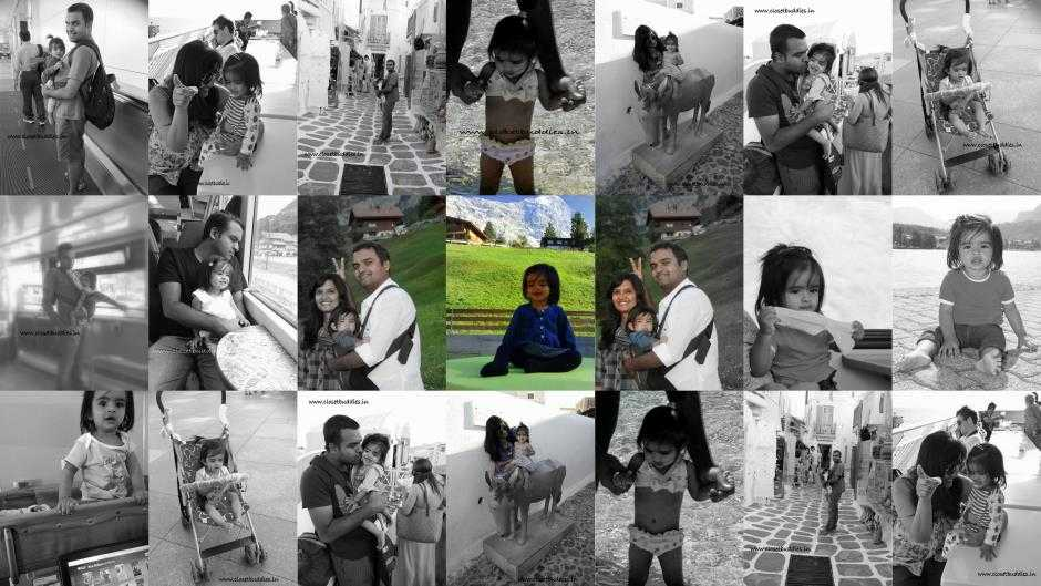 collage 2 - Travelling with a Toddler- How to? Part-2