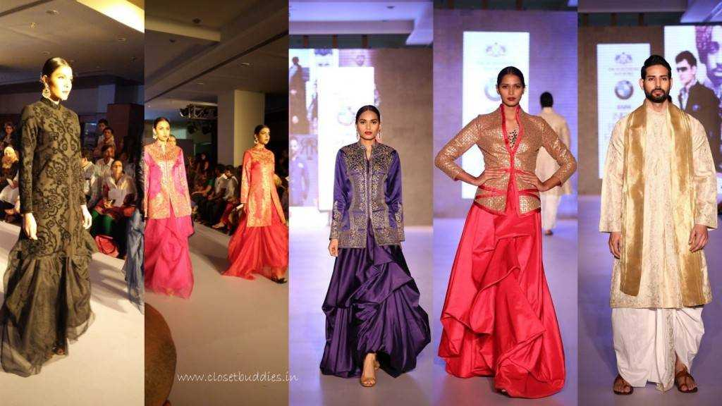 collage1 1024x576 - BMW-India Bridal Fashion Week @Ahmedabad- Raghavendra Rathore