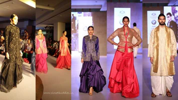 collage1 e1443429997931 - BMW-India Bridal Fashion Week @Ahmedabad- Raghavendra Rathore