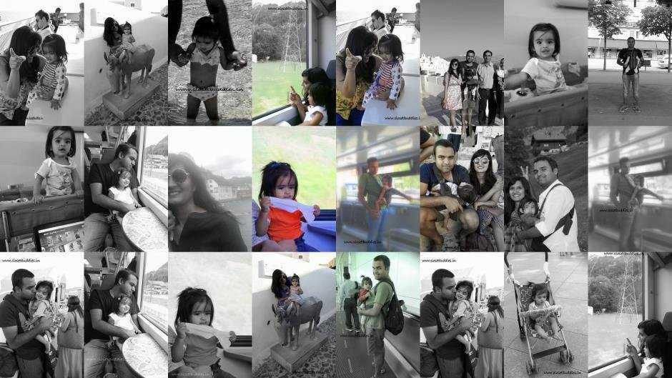 collagebW - Travelling with a Toddler- How to? Part-1