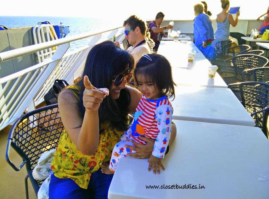cruise ship - Travelling with a Toddler- How to? Part-1