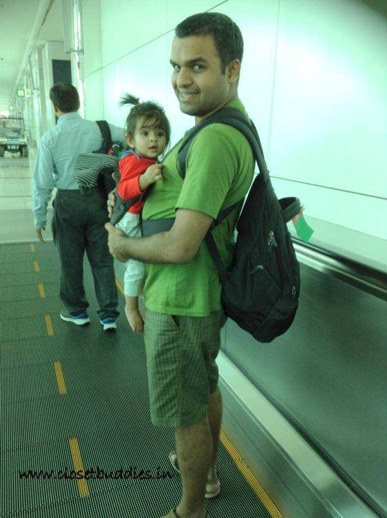 dubai airport 765x1024 - Travelling with a Toddler- How to? Part-1