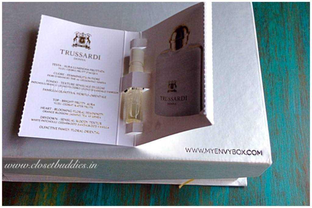 Trussardi Donna perfume vial 1.5ml