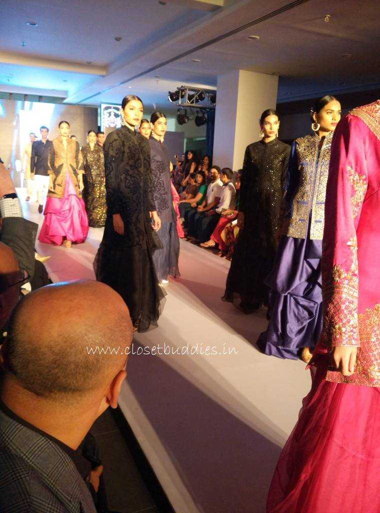 ramp show 759x1024 - BMW-India Bridal Fashion Week @Ahmedabad- Raghavendra Rathore
